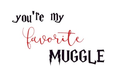 Harry Potter muggle card