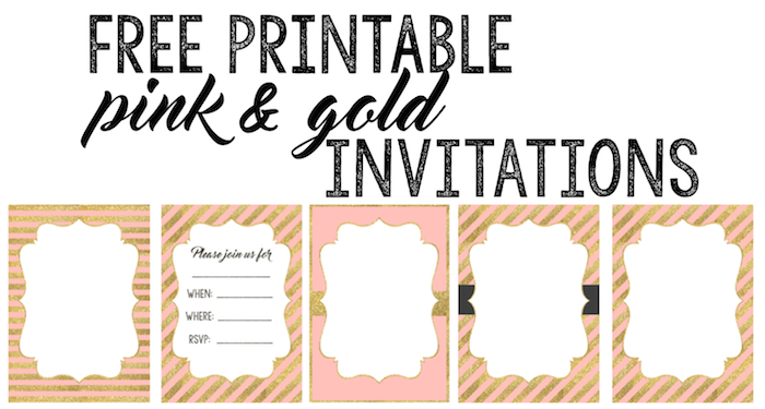 picture regarding Invitations Printable named Red and Gold Invites Absolutely free Printable - Paper Path Layout