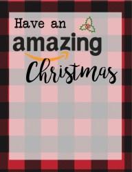 Christmas Gift Card Holders for Amazon. Print these free printable flannel Christmas print cards to go with amazon gift cards. these make a great teacher gift for Christmas.