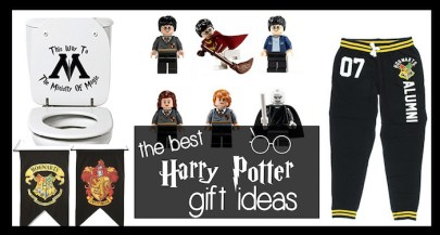 Best Harry Potter Gift Ideas. From Hogwarts to platform 9 3/4 to Gryffindor to muggles, find unique gifts that every Harry Potter lover will adore.