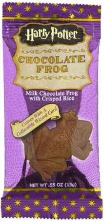 Harry Potter Chocolate Frog with card is one of the best Harry Potter gifts.