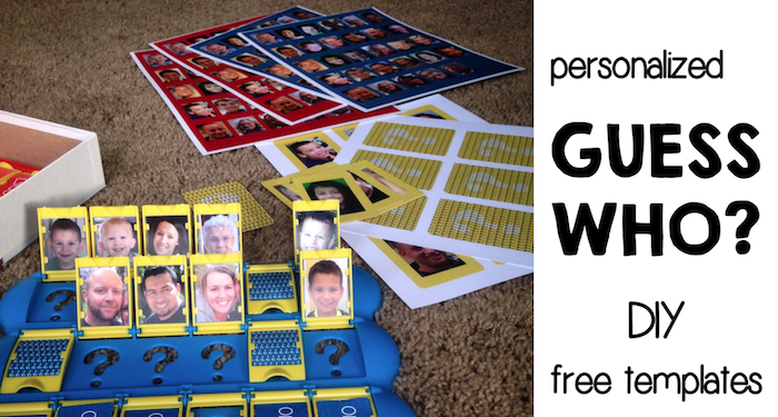 graphic regarding Guess Who Printable identify Do-it-yourself Bet Who Template No cost Printables - Paper Path Structure