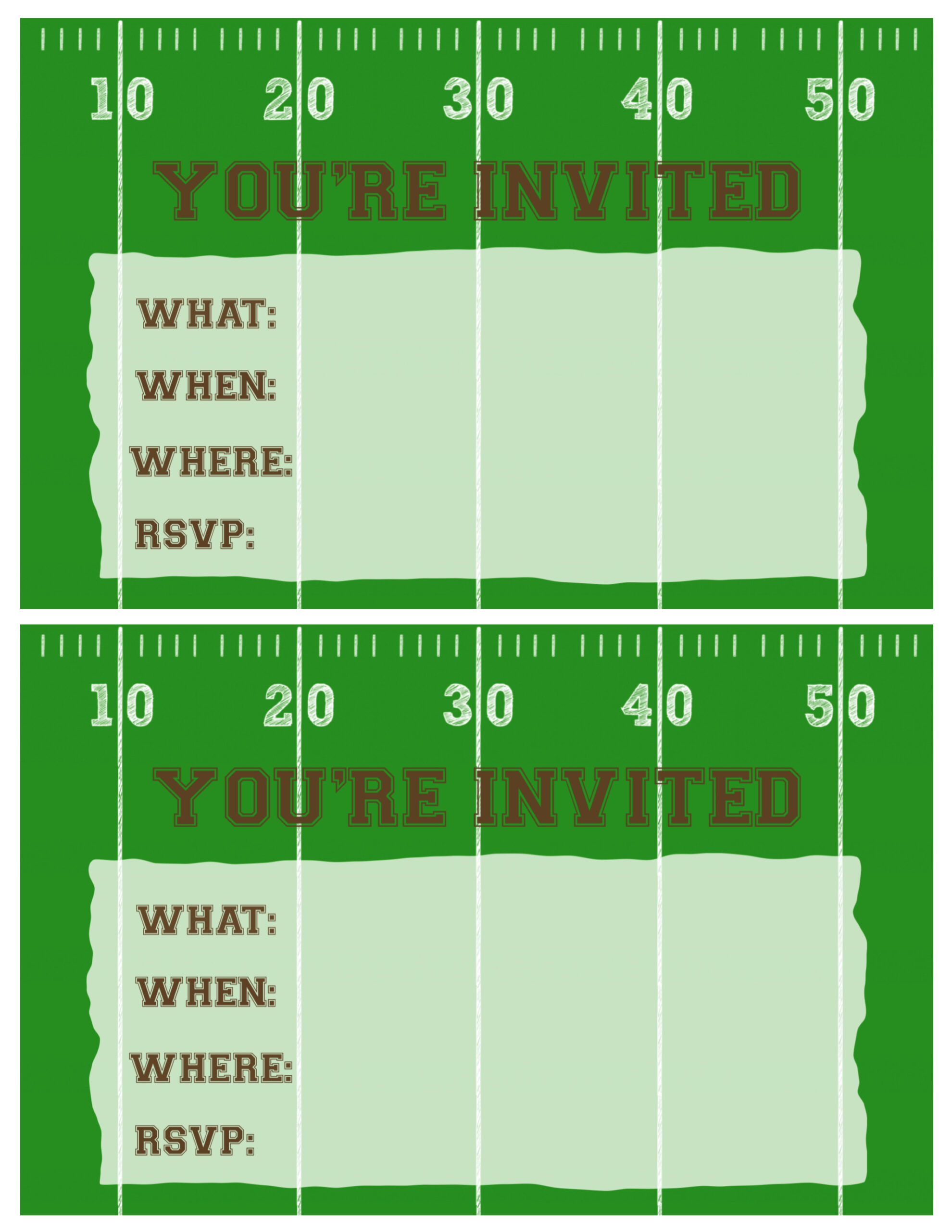 Cheap Fast Invitations