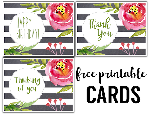 photograph relating to Printable Thinking of You Card called Totally free Printable Greeting Playing cards Thank Yourself, Pondering of On your own