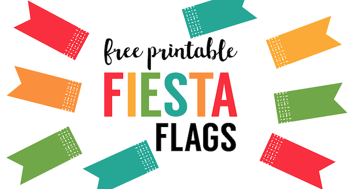 Fiesta Cupcake Toppers {Free Printable Flags} - Paper ...