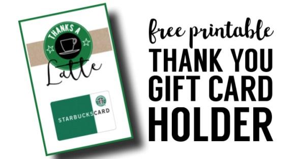 Starbucks Teacher Thank You Printable. These free thank you printables make for easy teacher appreciation gifts. Easy DIY Starbucks teacher appreciation card.