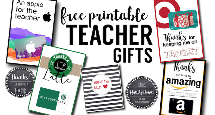 Free Printable Teacher Thank You Cards Ideas