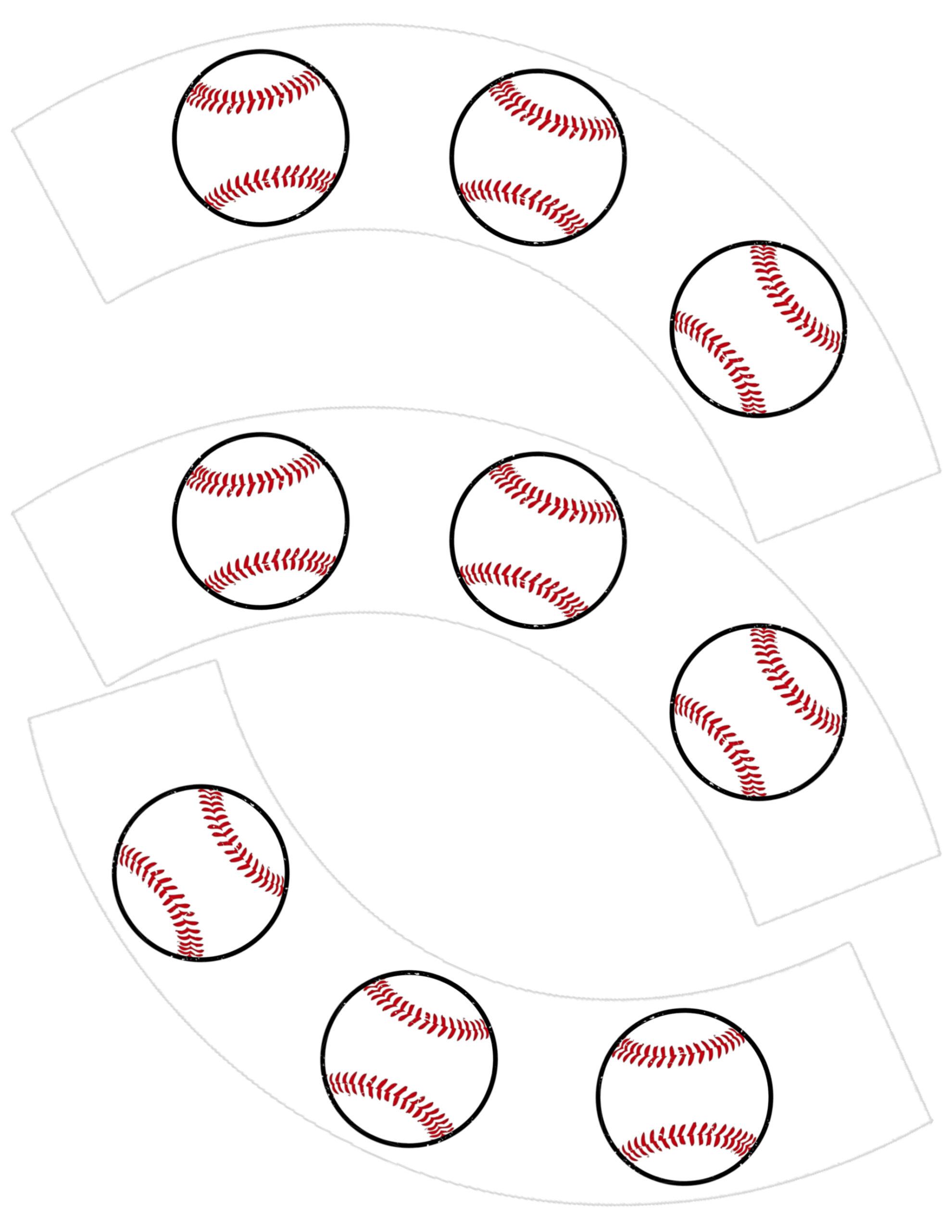 Baseball Printable