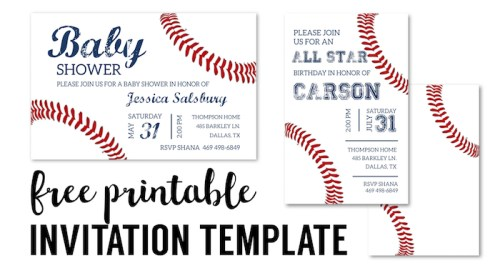 Birthday Invitations Free Printable Templates  Paper Trail Design