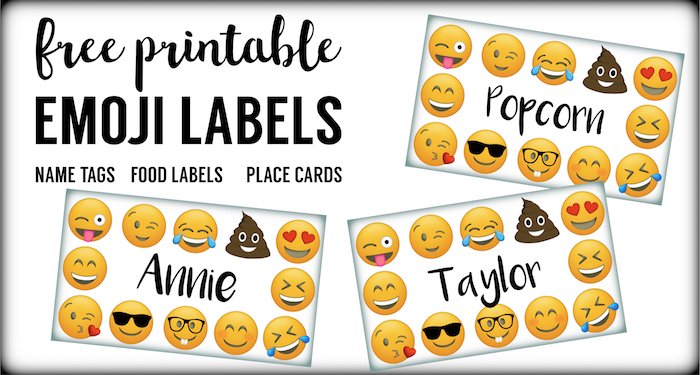 graphic relating to Printable Emoji Stickers named Emoji Labels, Emoji Level Playing cards, Emoji Foods Labels - Paper