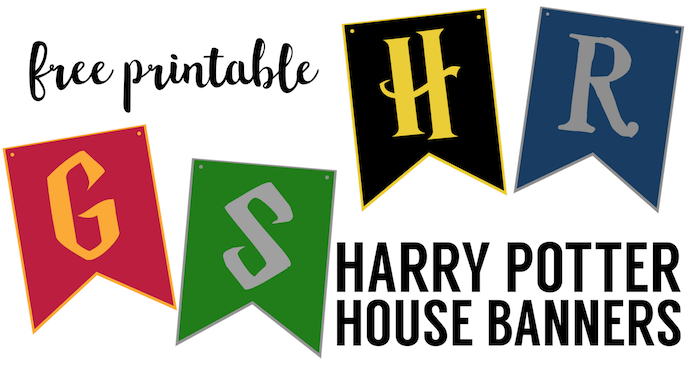 Exhilarating image pertaining to hogwarts banner printable