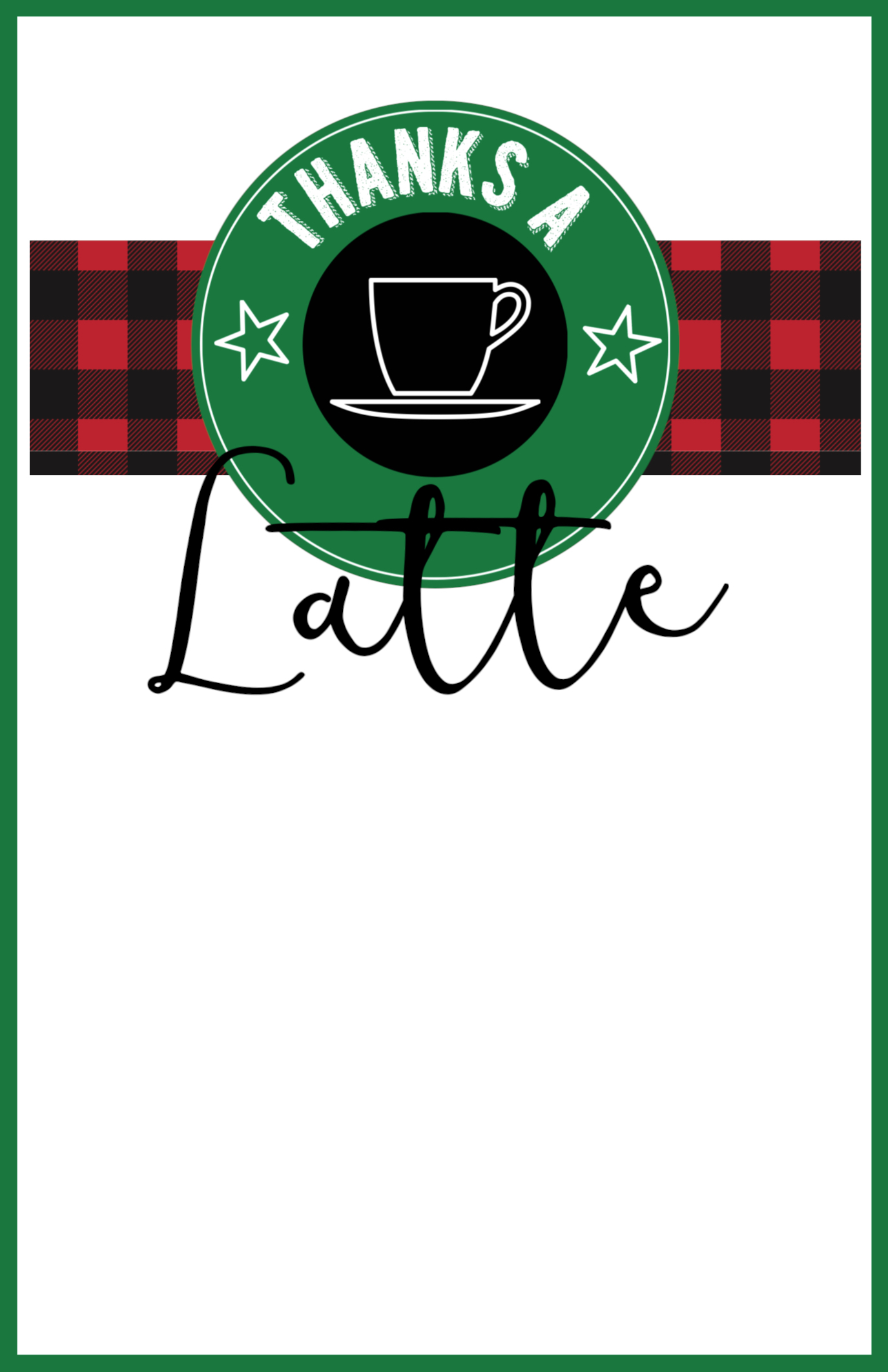 Easy Teacher Christmas Gift Idea Starbucks Gift Card