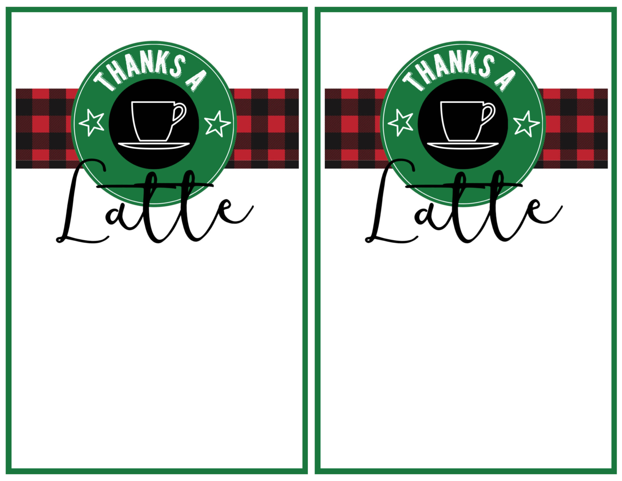 Easy Teacher Christmas Gift Idea {Starbucks Gift Card} - Paper Trail ...