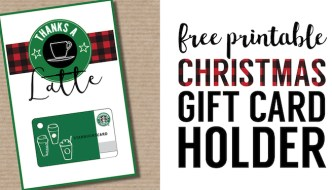 Easy Teacher Christmas Gift Idea {Starbucks Gift Card}