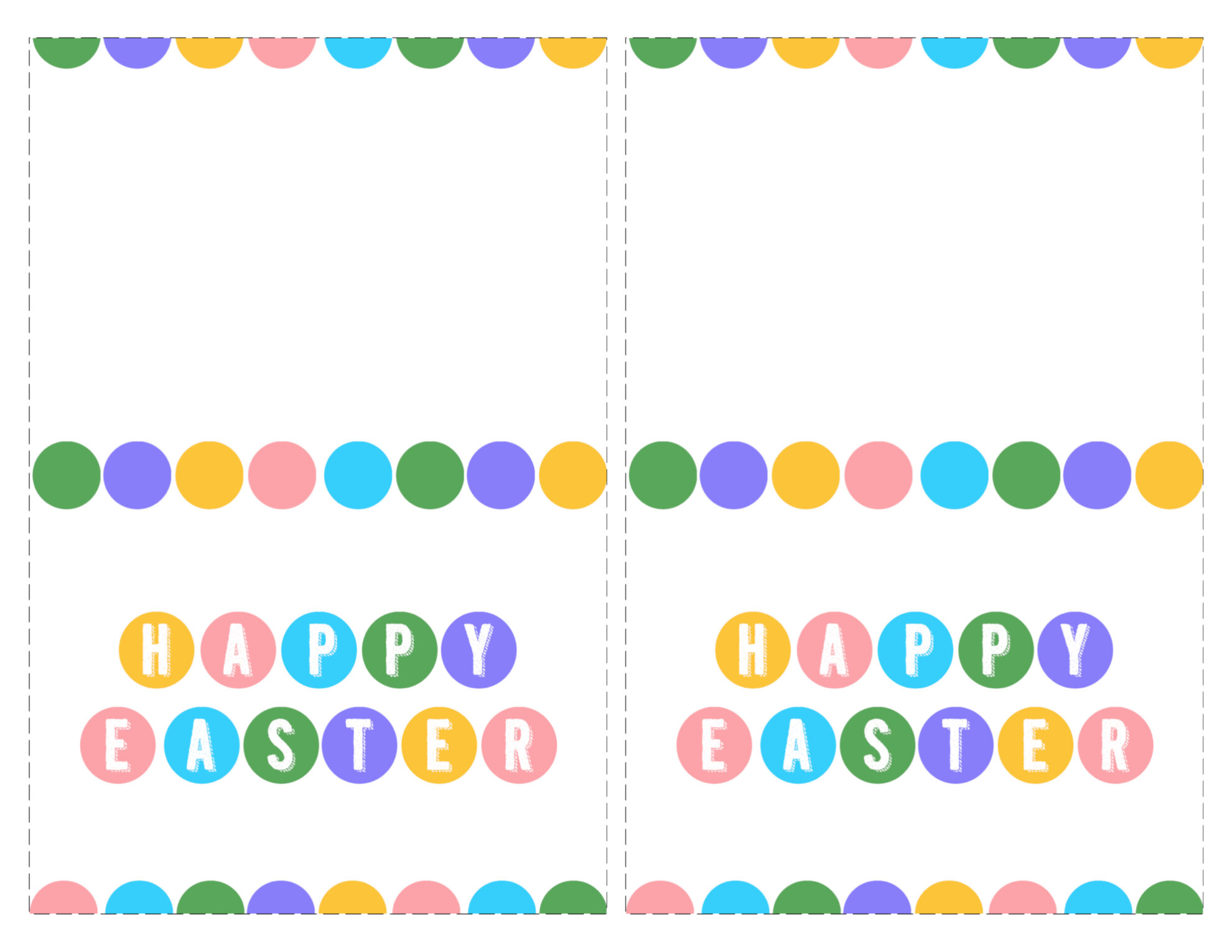 Happy easter cards printable free paper trail design click the following links to print the happy easter cards printable free kristyandbryce Choice Image