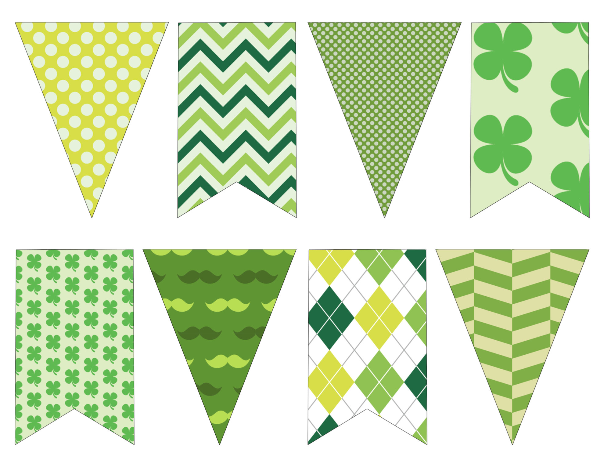 Diy St Patrick S Day Decorations Printable Banner