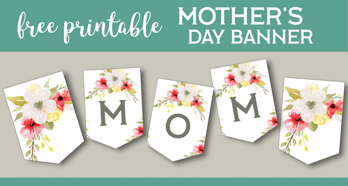 Mother's Day Banner Printable