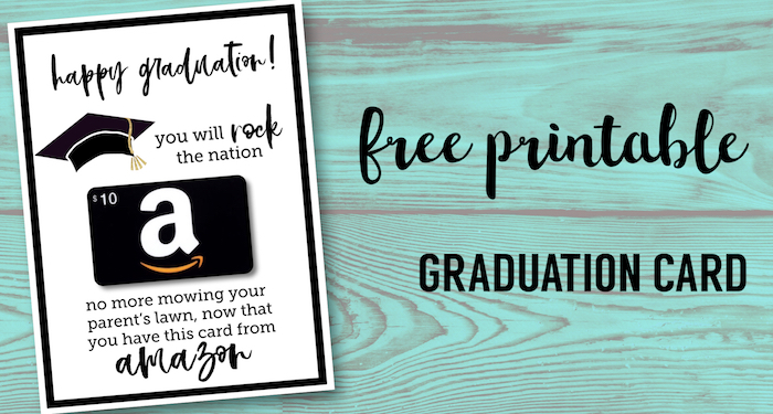 Genius image within free printable graduation card