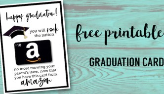 Free Printable Graduation Card