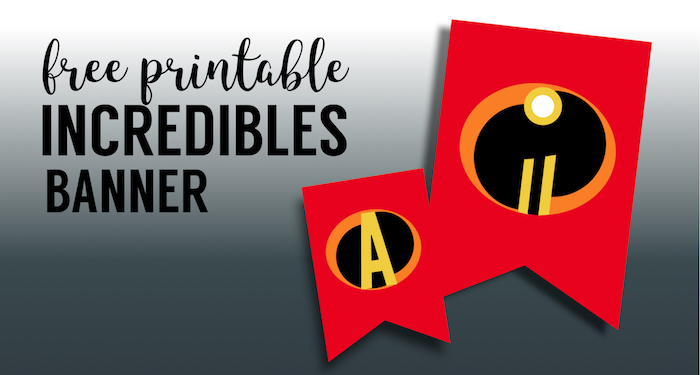 Personalised Incredibles Birthday Banners Cards Invitations Posters