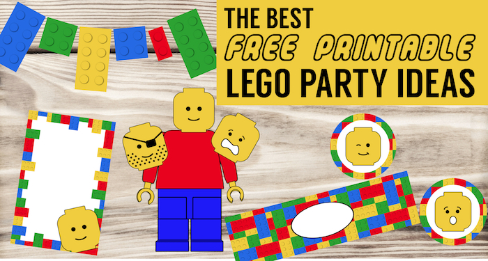 photograph about Printable Lego Birthday Invitations titled Most straightforward Lego Birthday Bash Tips No cost Printables - Paper