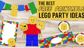 Best Lego Birthday Party Ideas {Free Printables}