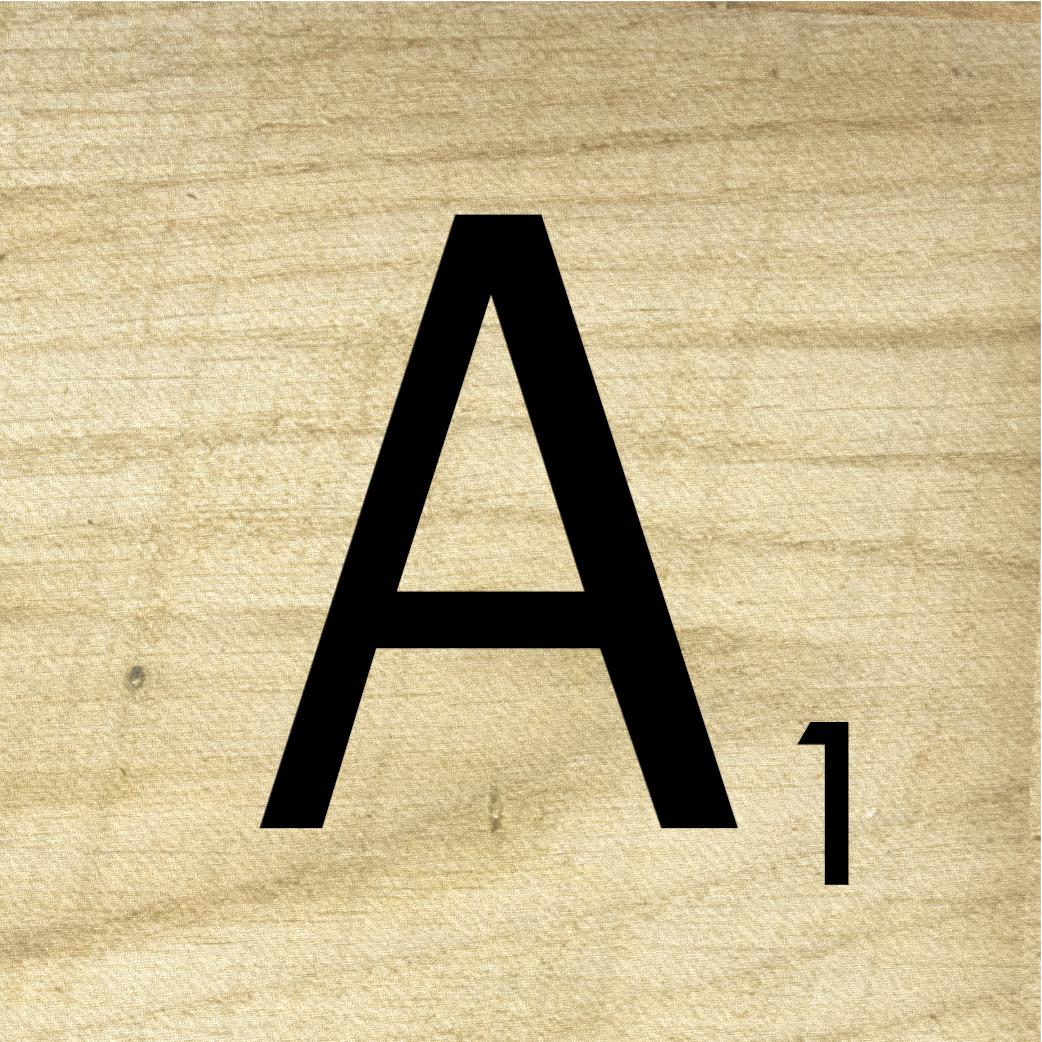 Scrabble Alphabet Letters To Print
