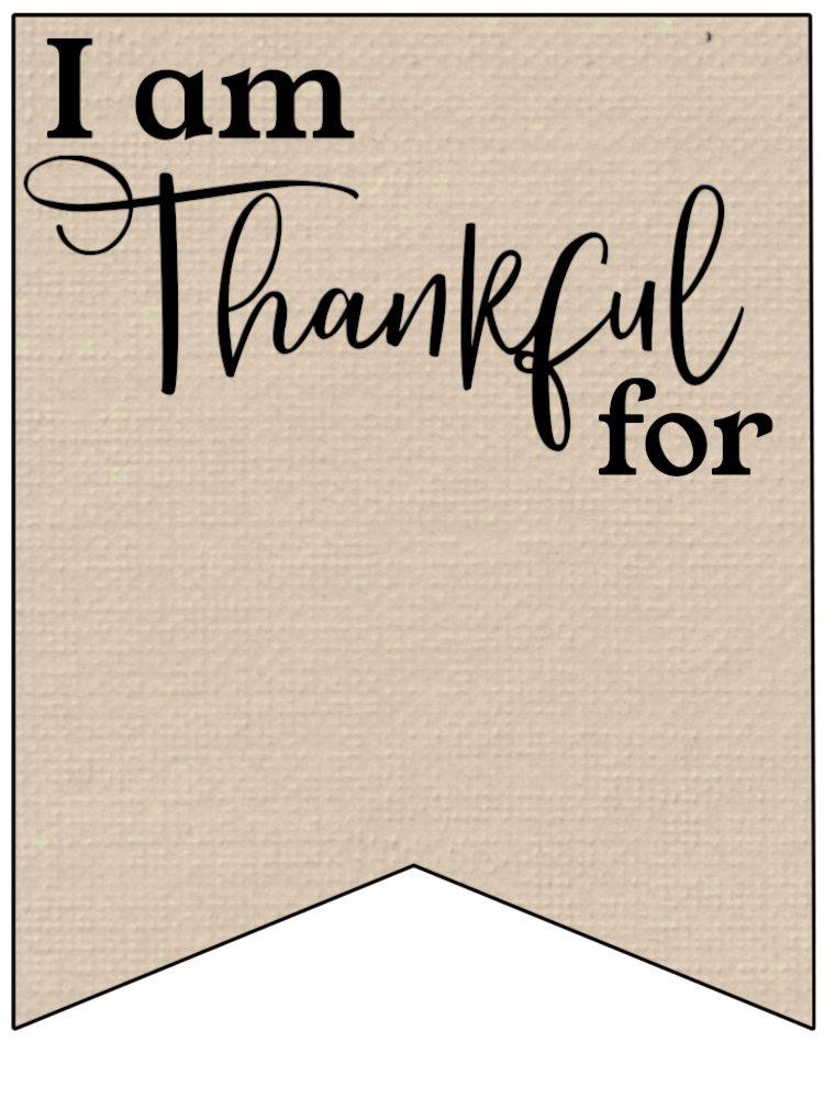 Gargantuan image with regard to i am thankful for printable