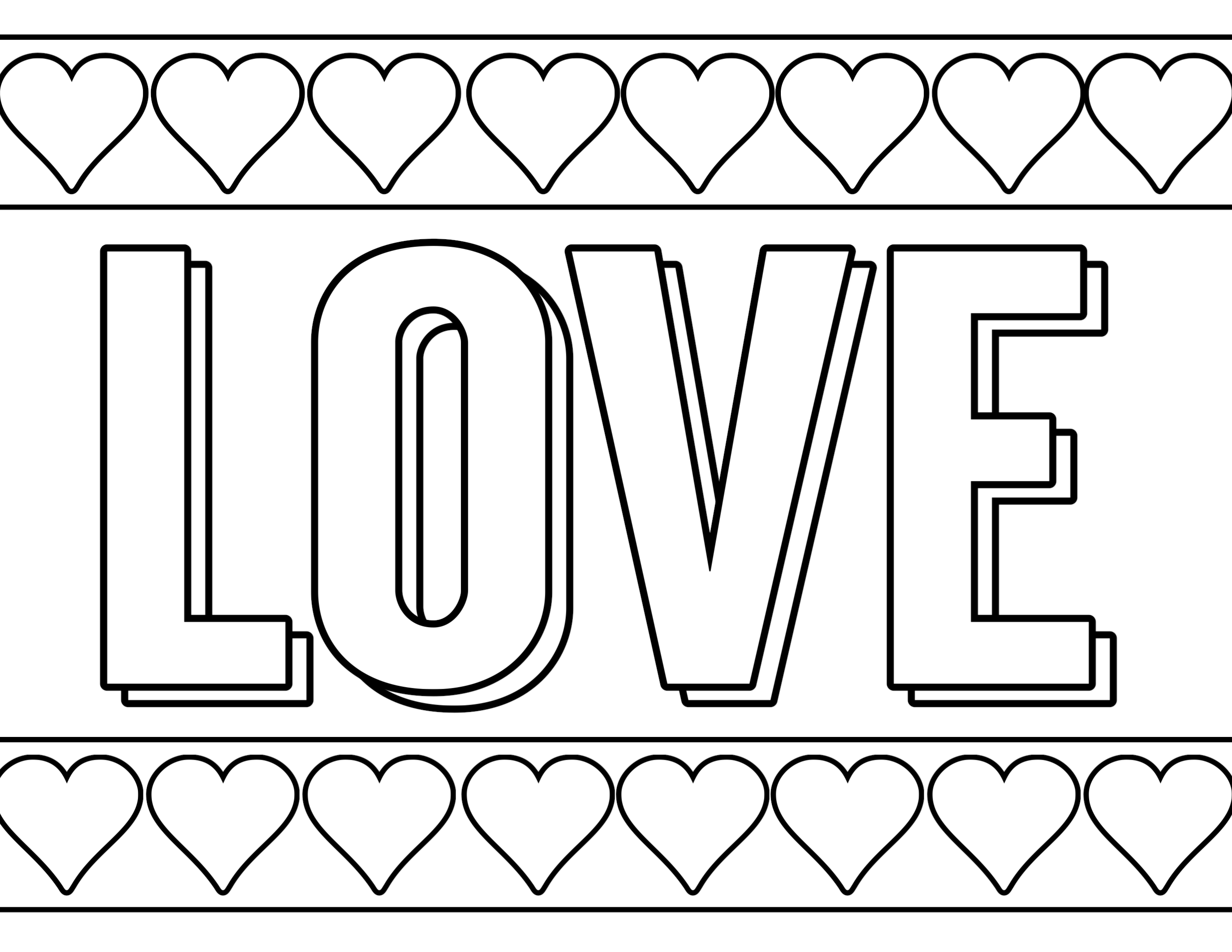 image about Printable Valentine Coloring Page called Absolutely free Printable Valentine Coloring Webpages - Paper Path Style