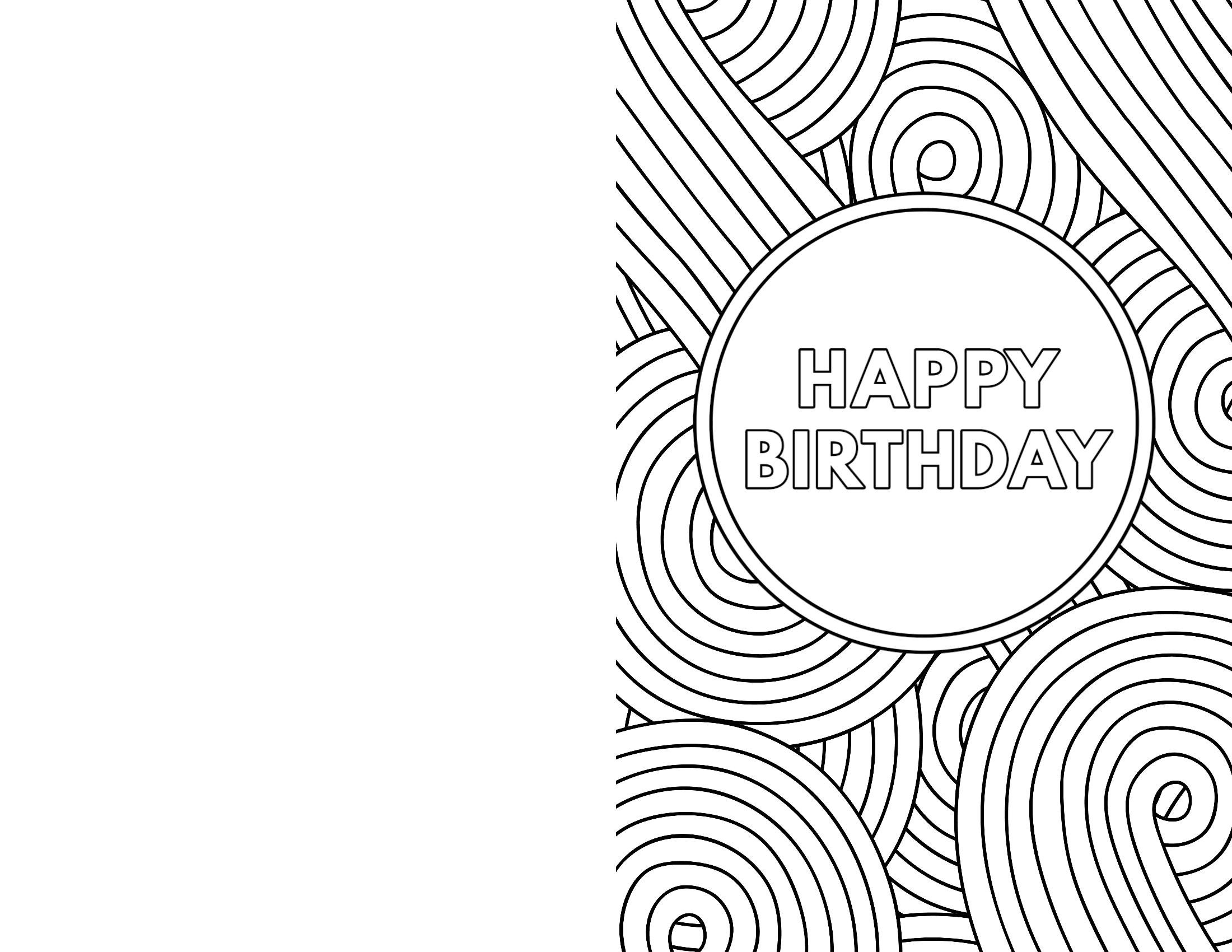 Eloquent image with regard to black and white printable birthday cards