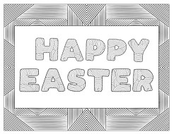 Free Printable Easter Coloring Sheets. Fun and cute Easter egg and happy Easter Coloring pages for adults or kids or students. #papertraildesign #eastercoloringsheets #coloringsheets #freeprintable #printable #printablecoloring #easterprintable #easterfun #easteractivity #springactivity #free