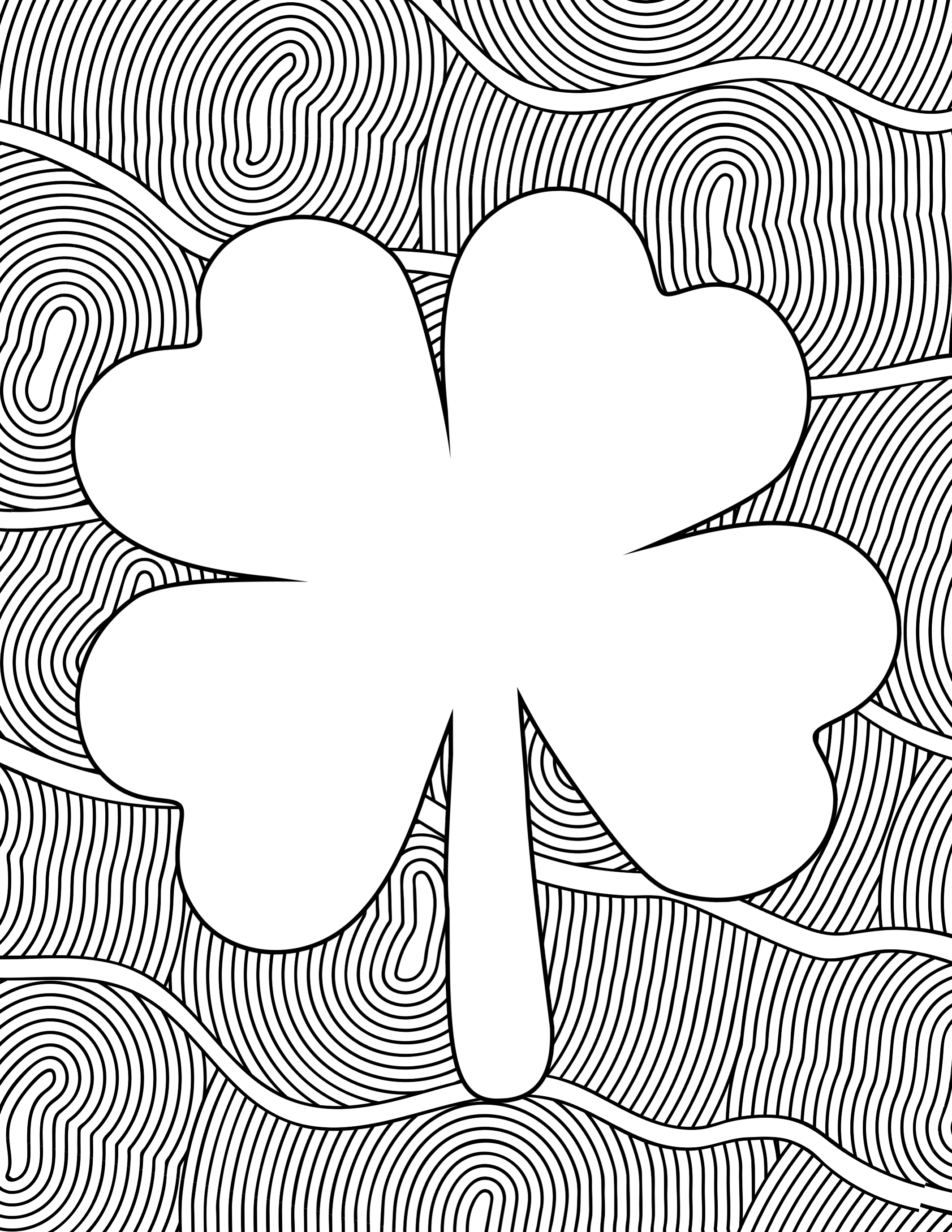 Free Printable St. Patrick\'s Day Coloring Sheets - Paper Trail Design