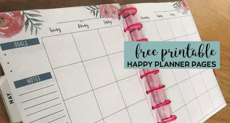photograph regarding Happy Planner Printable Calendar Pages identified as No cost Printable Joyful Planner Pupil Internet pages - Paper Path Design and style