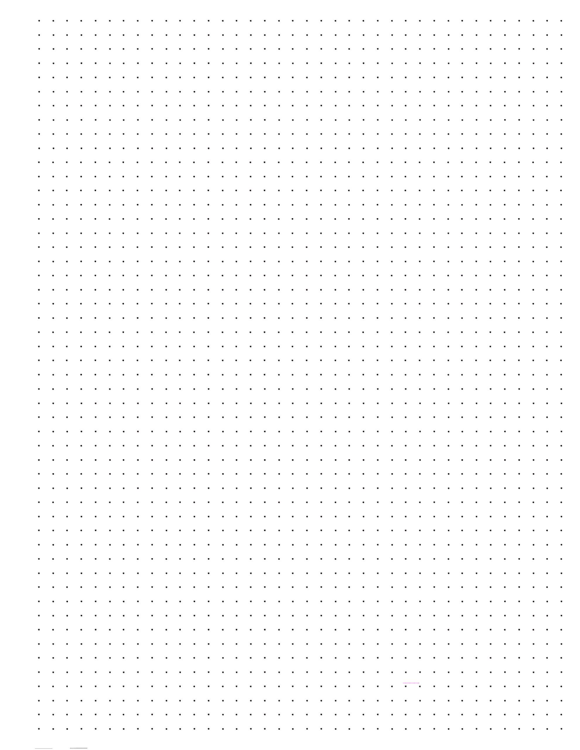 Happy Planner Dot Grid Paper Free Printable