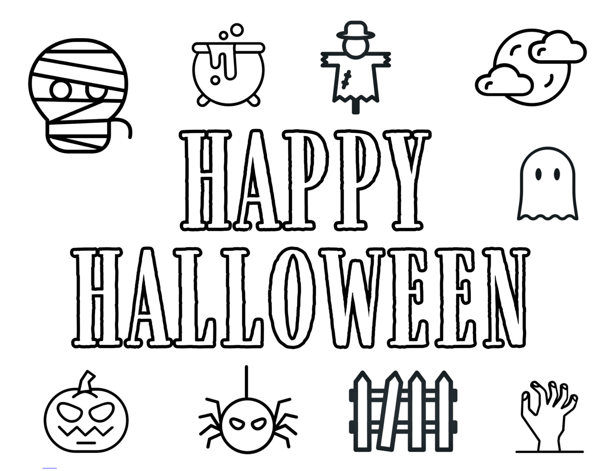 Inventive Printable Halloween Pictures
