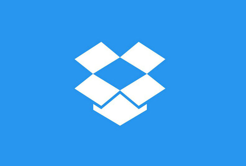 dropbox app store files