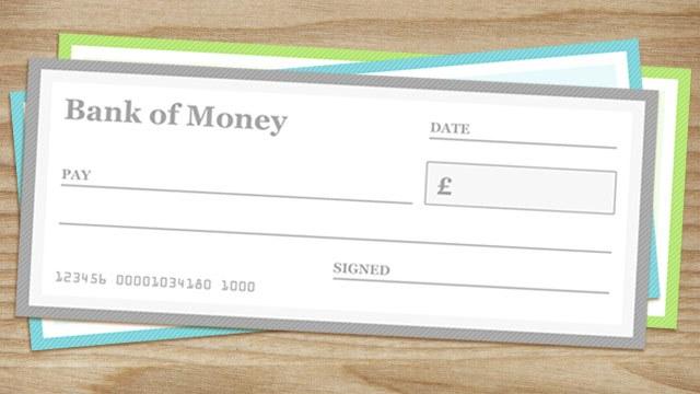 photograph regarding Printable Abundance Check titled Blank Cheque Templates - PAPERZIP