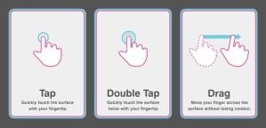 learn ipad hand gestures
