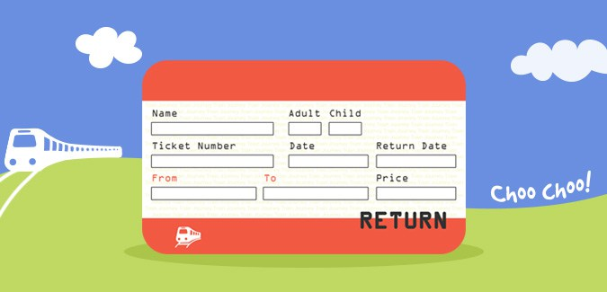 UK Train Ticket Template  Play Ticket Template