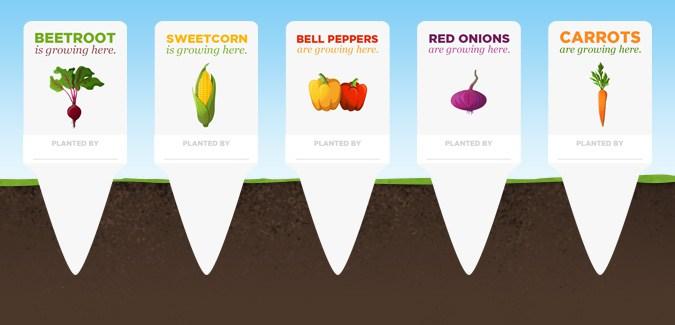 free vegetable labels garden printable
