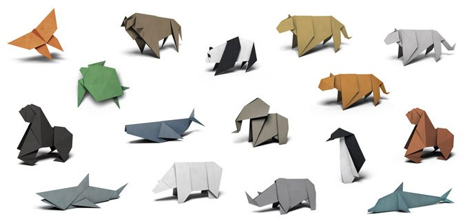 Free Origami Animal Templates From The Wwf Paperzip
