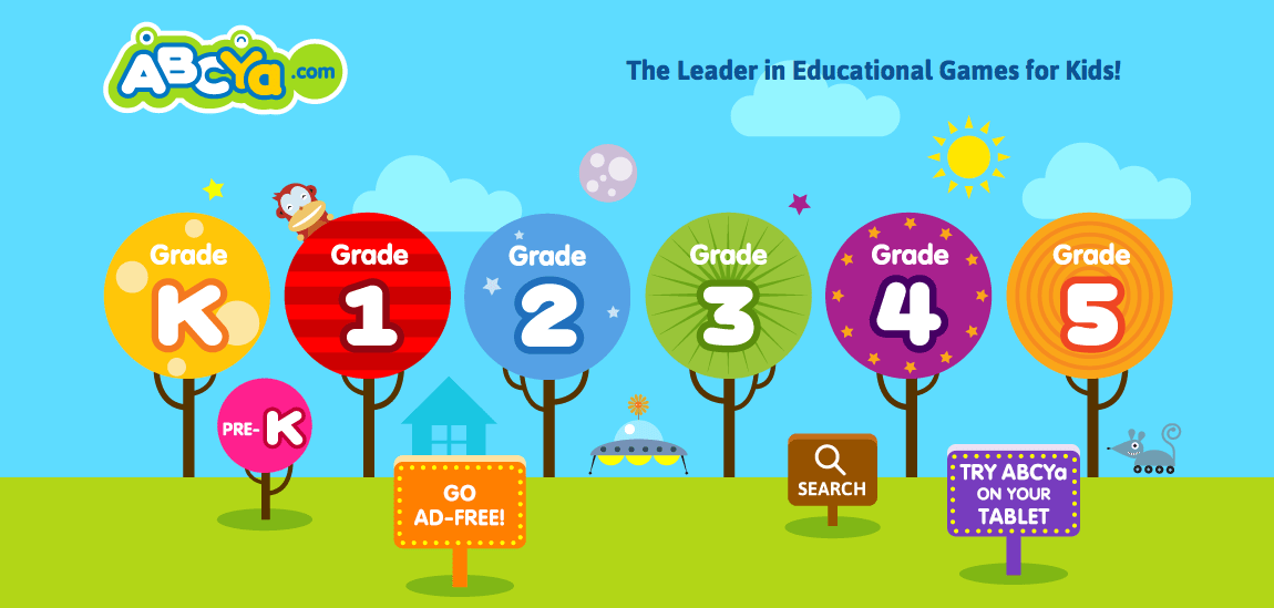 Brilliant educational games from ABCya! – PAPERZIP
