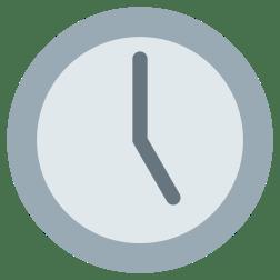 clock-five-oclock