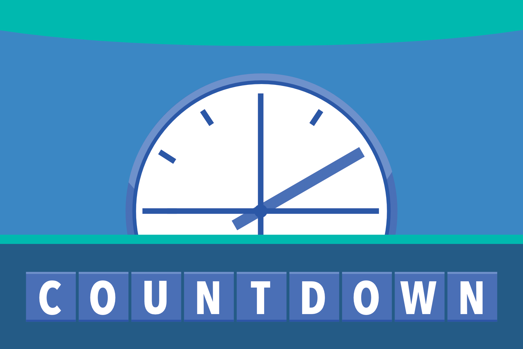 picture regarding Countdown Printable named Countdown Activity - PAPERZIP