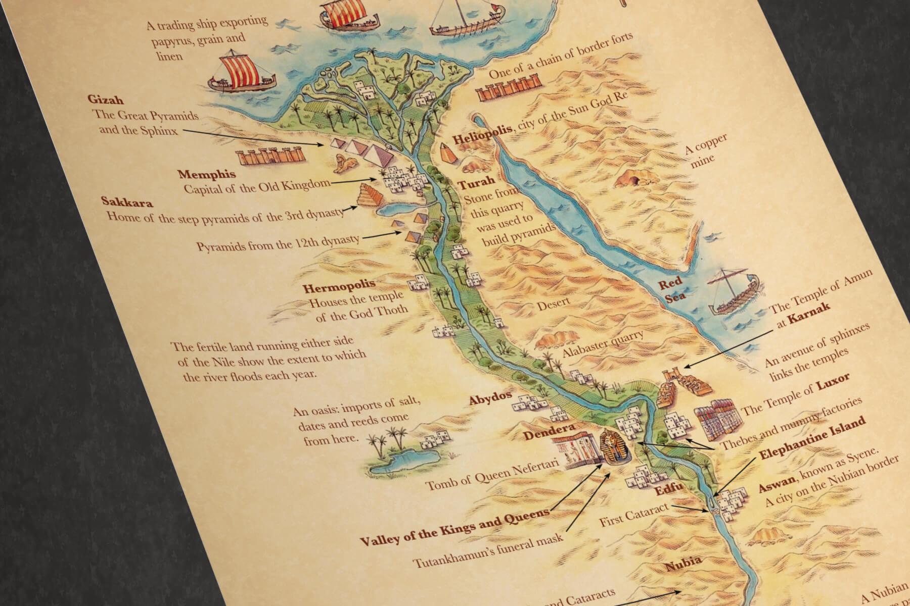 Maps of Egypt - PAPERZIP