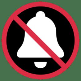 no-sound-bell
