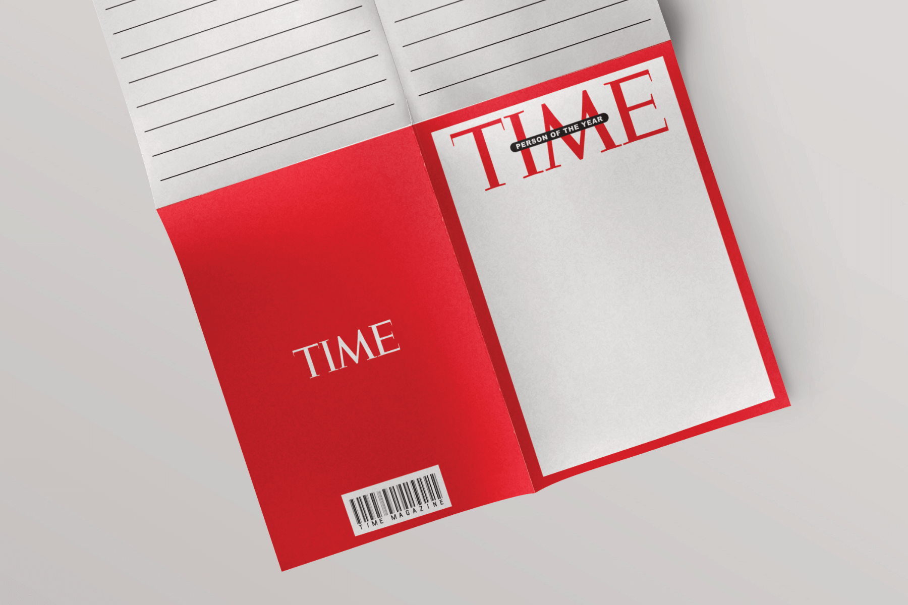 Time Magazine – Person of the Year Templates - PAPERZIP