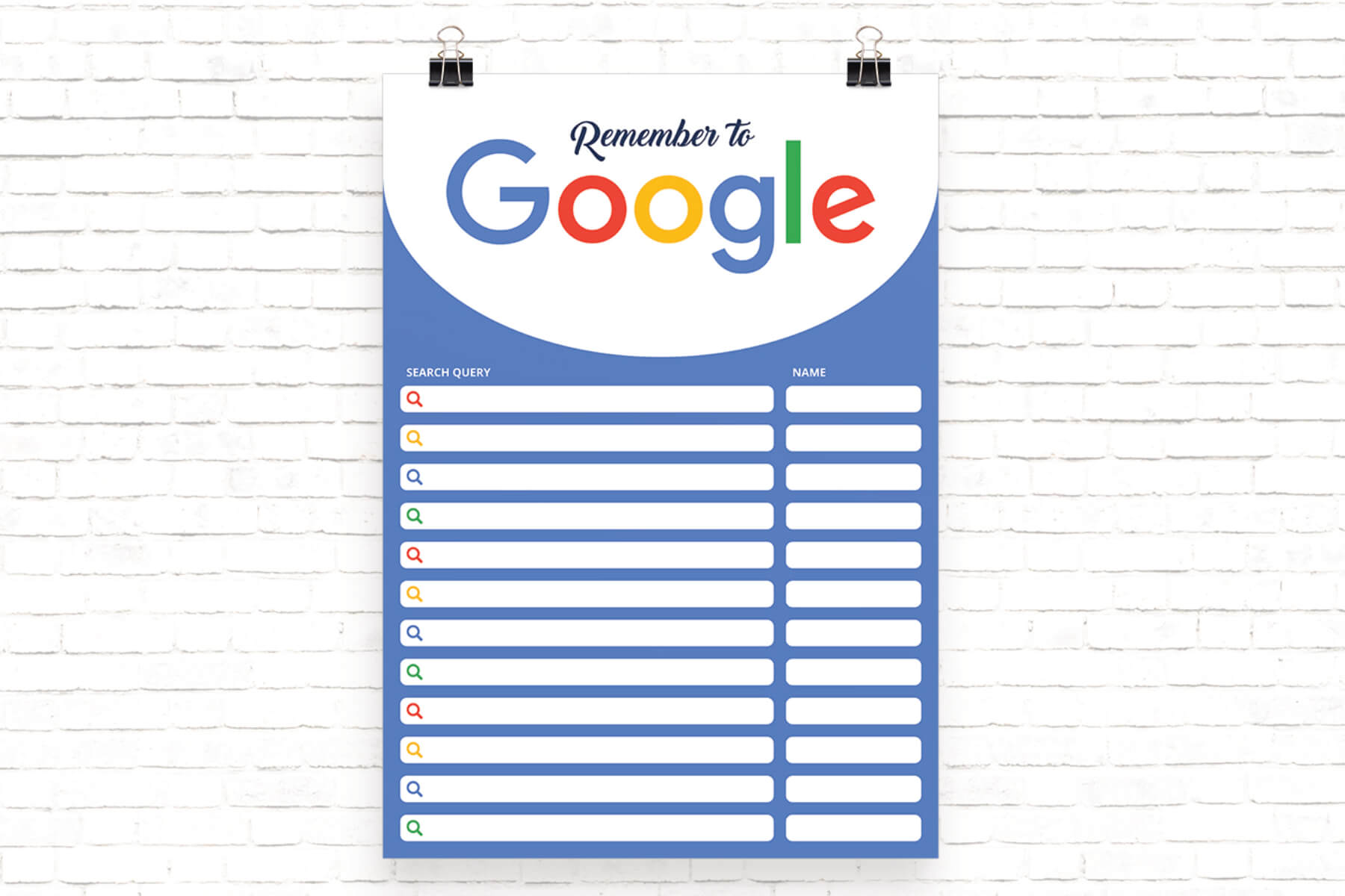 google search query reminder schools