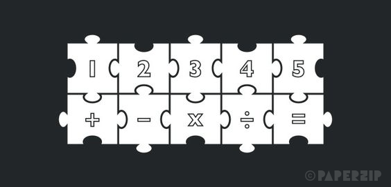 printable jigsaw numbers free