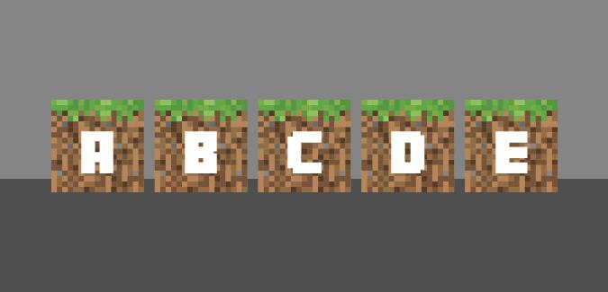 graphic relating to Free Printable Minecraft Letters identify Minecraft Alphabet - PAPERZIP
